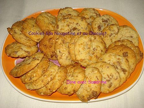 Cookies à la Nougatine et au Chocolat 7