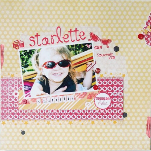 Starlette a lunettes