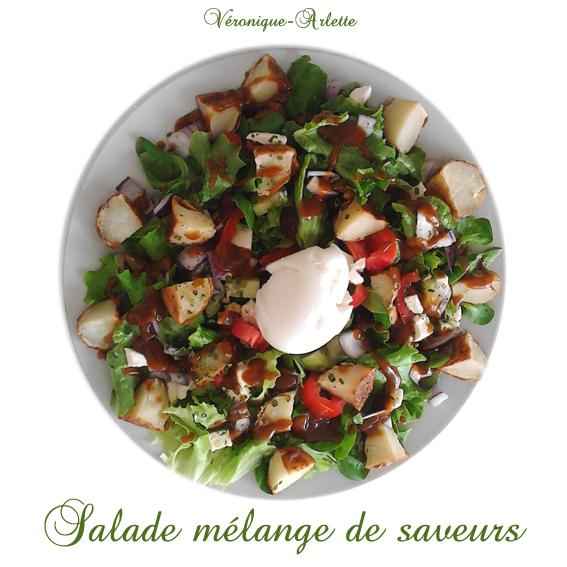 Salade mélange de saveurs