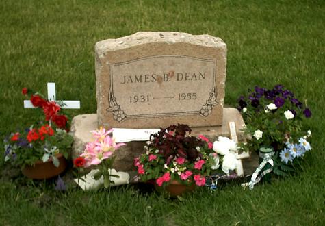 tombe de James Dean