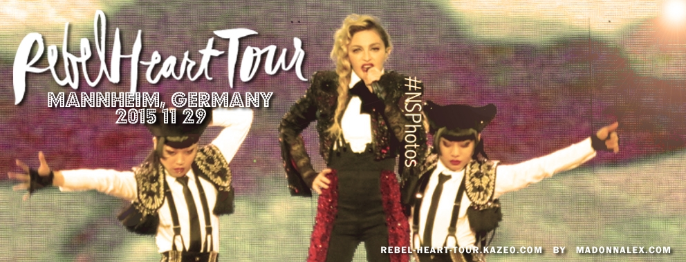 Madonna Rebel Heart Tour Mannheim