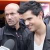 Taylor Lautner séance dédicaces Orange Champs Elysées