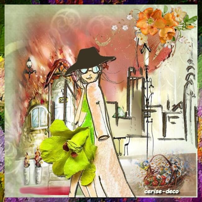 gif femmes fleur pour le défi de manik