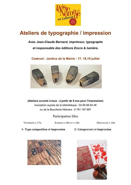 Ateliers de Typographie