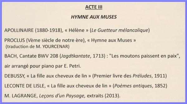 """""""Andromaque, je pense à vous..."""" un récital poétique et musical, à travers l'imaginaire des figures féminines de l'Antiquité grecque"""