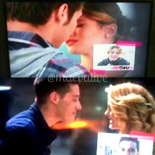 Y'aurai t'il de nouveaux baiser dans Violetta 3?