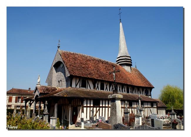 La route touristique des églises à pans de bois