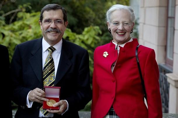 Margrethe et la médaille