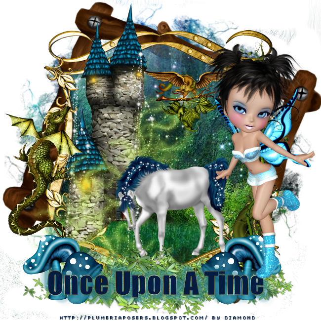 "Tutoriel ""Once Upon A Time"" de Liligraph chez Delire2scrap"