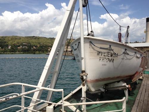 Agatha Christie's MV Liemba!
