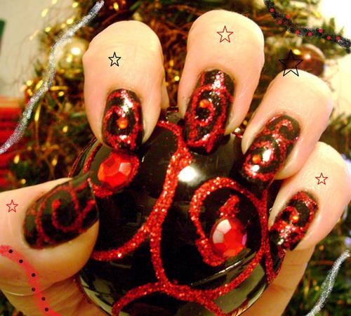 Concours Nail Art Noël