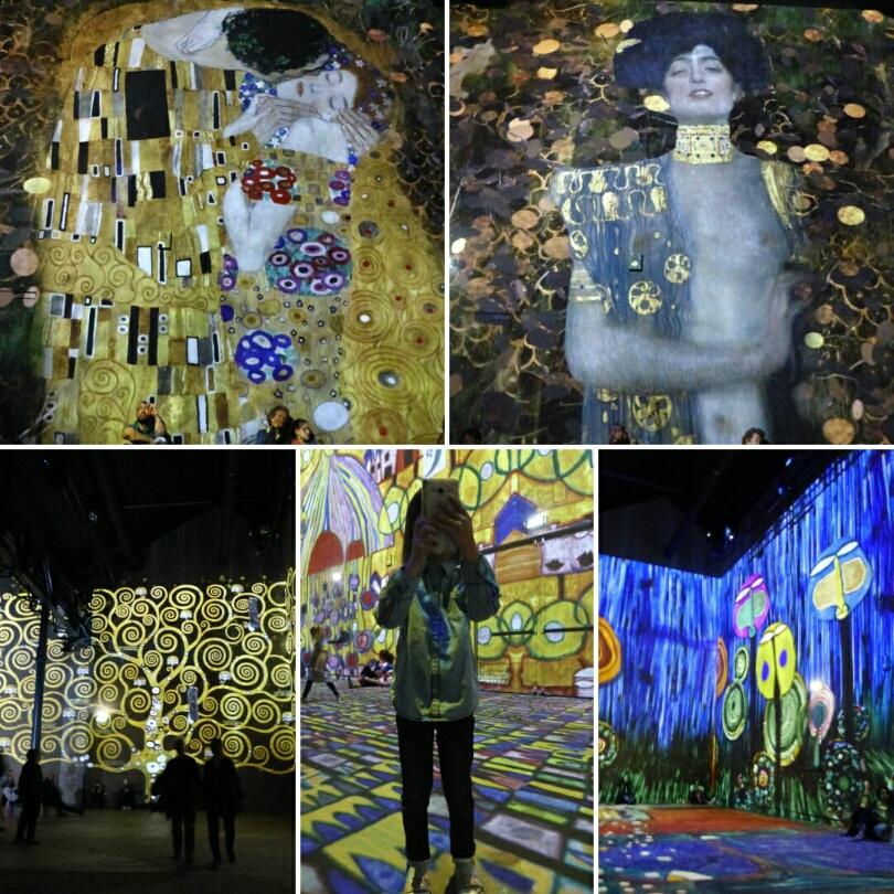 Atelier des Lumières - exposition Klimt