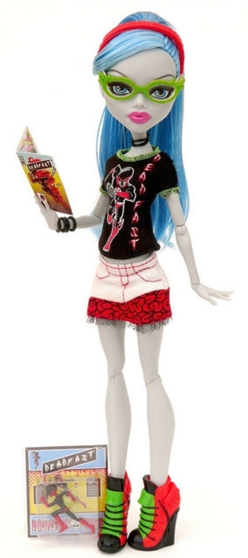 Ghoulia doll school's