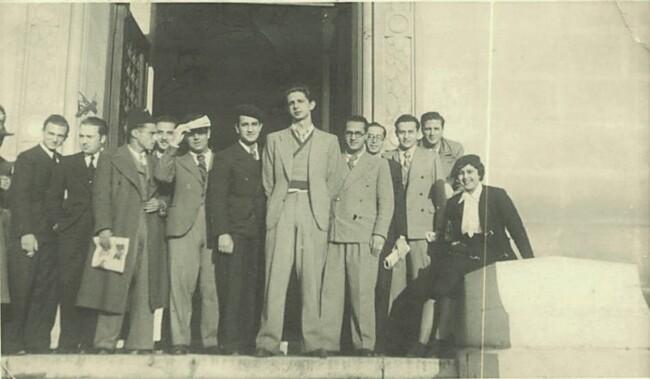 Étudiants de la Faculté de Droit d'Alger en 1941