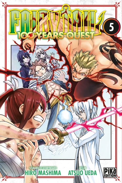 Fairy tail 100 years quest - Tome 05 - Hiro Mashima & Atsuo Ueda