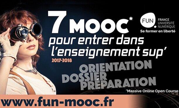 FUN propose 7 MOOC pour aider les lycéens à entrer dans l'enseignement supérieur