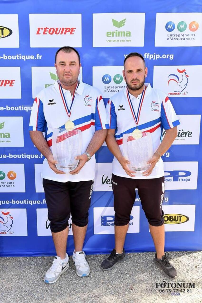 Championnat de France Doublette Jeu Provençal