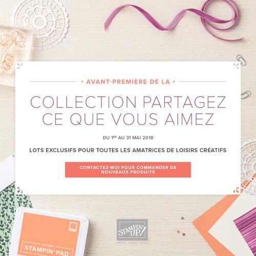 """Avant-première : collection """"Partagez ce que vous aimez"""" !"""