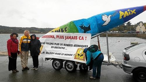 Crozon. Rassemblement pacifiste antinucléaire au Fret, ce dimanche (LT.fr-14/10/18-13h32)