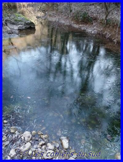 Les gorges du Caramy en hiver