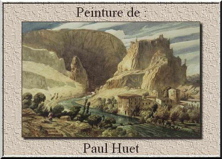 Peinture de : Paul Huet