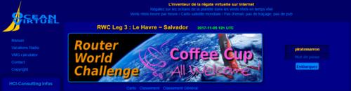 Départ des CM2 pour la Transat Jacques Vabre 2017