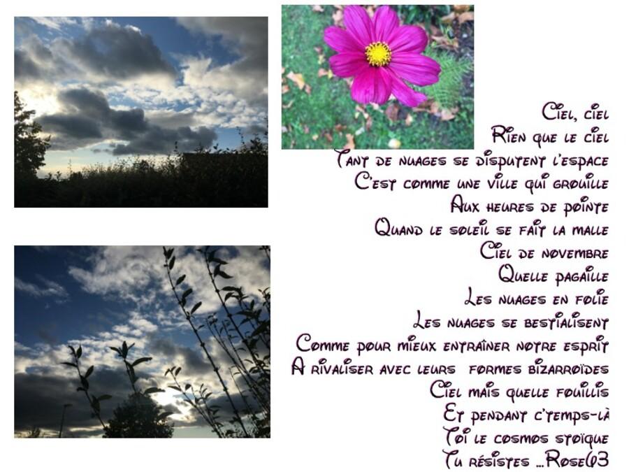 Un ciel pour Arlette comme chaque lundi