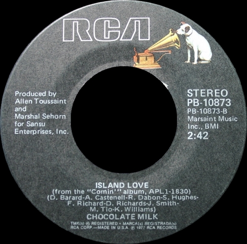 "Chocolate Milk : Album "" Comin' "" RCA Victor Records APL1-1830 [ US ]"