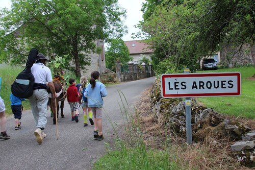 """""""Mission Zachée """": tronçon entre Montcléra et Les Arques"""