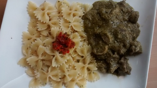 Pâtes_Sauce Pesto