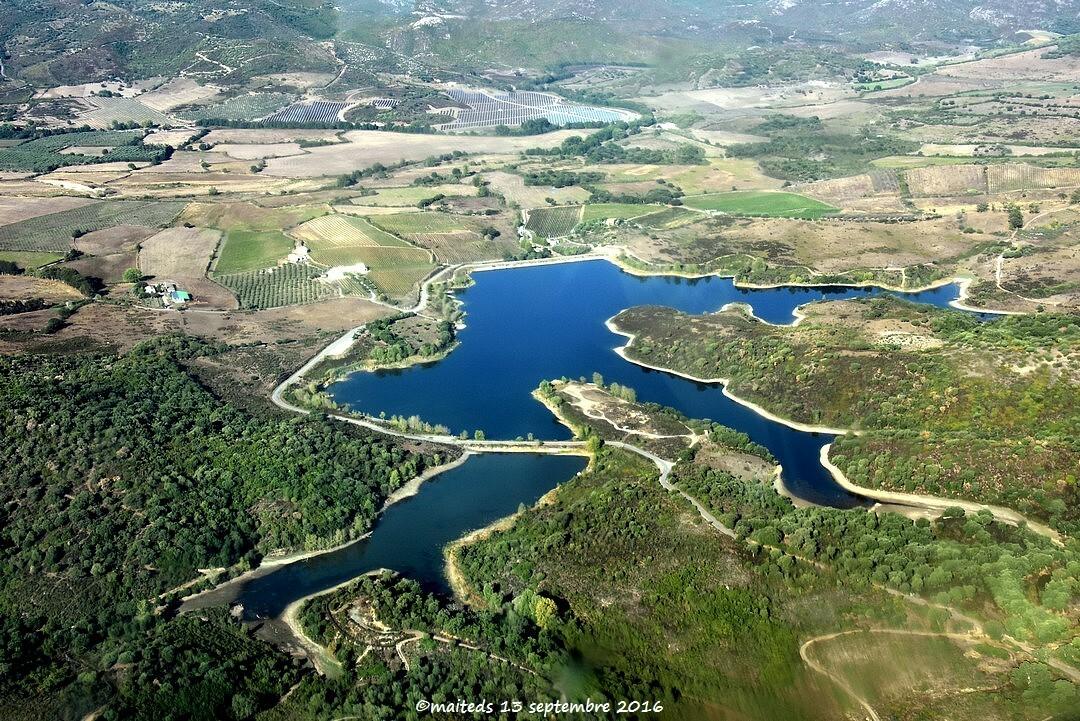 Lac et barrage de Padula - Corse