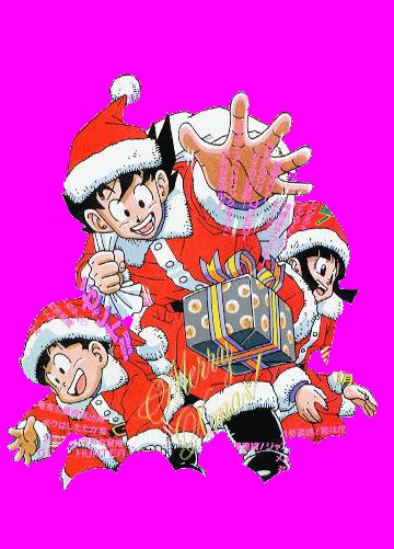 Famille Son DBZ Noël