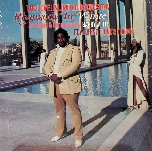 "The Love Unlimited Orchestra 1973-74 : Album "" Rhapsody In White "" 20th Century Records T-433 [ US ]"
