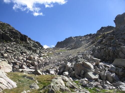 Junior bivouac : Puig de la Grava (par vallée du Nabre) - 09/66