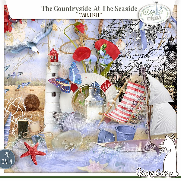 mini kit the countryside at the seaside de kittyscrap
