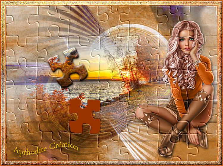 05.Paysage d'hiver en puzzle