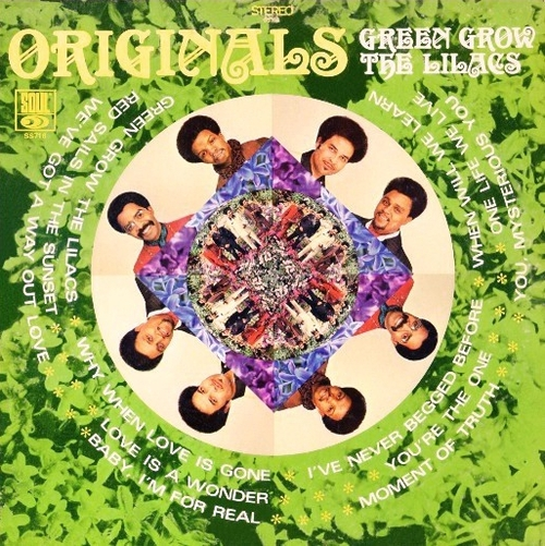 "The Originals : Album "" Green Grow The Lilacs "" Soul Records SS-716 [ US ]"