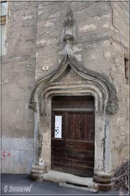 Pézenas Hérault Hôtel de Grave 15ème et 17ème siècles