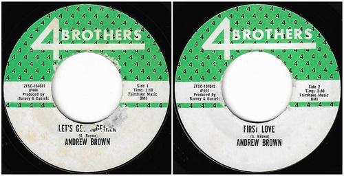 ANDREW BROWN Singles