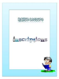 Rallye lecture: inscriptions