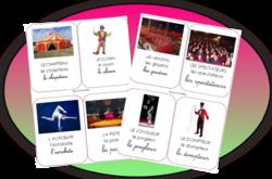 Imagier : Le cirque
