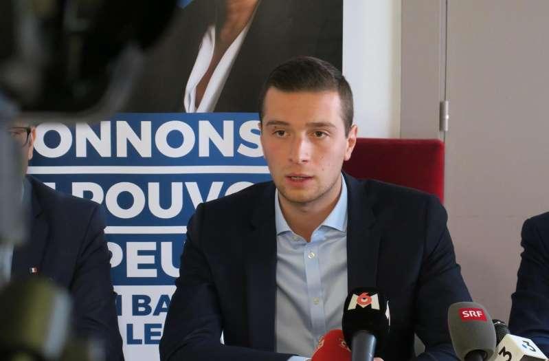 Européennes : soupçonné d'emploi fictif à Strasbourg, Jordan Bardella dénonce de la «mousse»