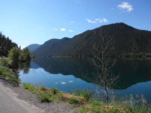 Mercredi 3 juillet: Lillooet - Cache Creek