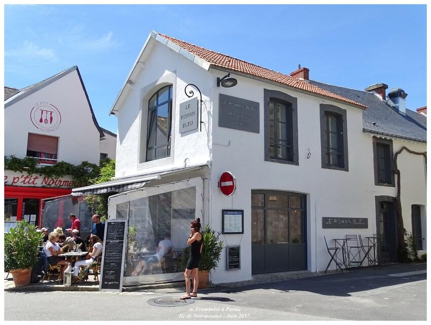 Noirmoutier en l'île - Quartier du Banzeau - juin 2017 - ROMAN BLEU