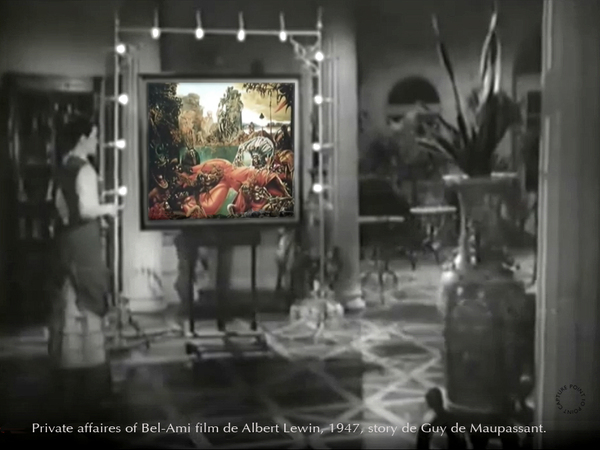 Bel Ami,Max Ernst, Albert Lewin,film Maupassant Capture Point-to-Point-Studio-