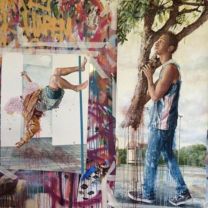 Fintan Magee...Un Street Artist De Génie !