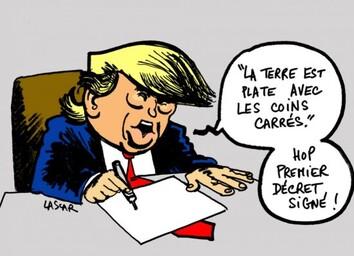 Trump est ignare, mais est il même intelligent.