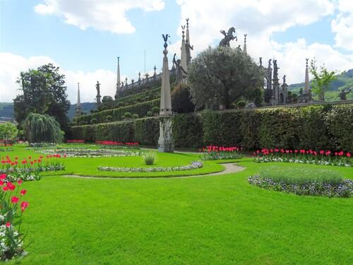 Le parc du Palais Borromée sur le Lac Mazeur (photos)