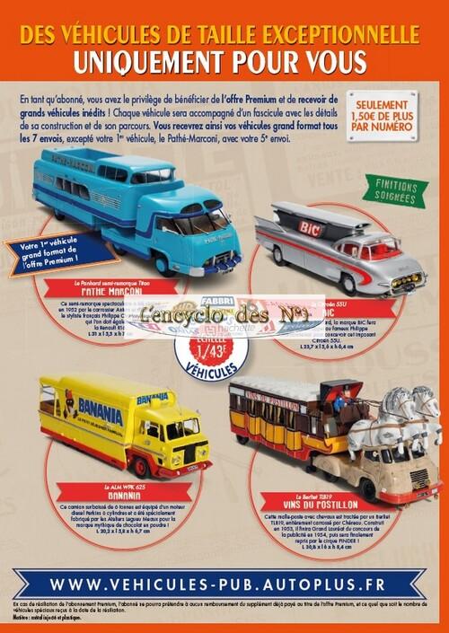N° 1 La fabuleuse histoire des véhicules publicitaires - Lancement 30/10/15