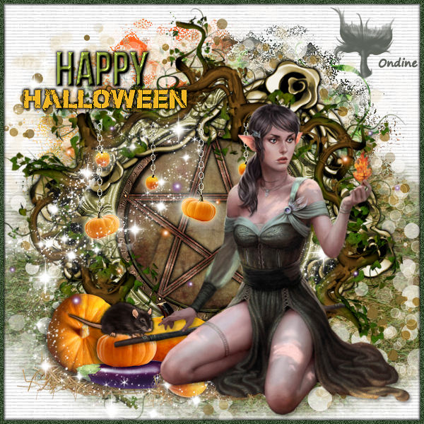 Tutoriel Happy Halloween de Lili Graph